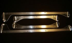 1954 Cadillac Series 60 Special Door Sill Plate Set of 4 REPRODUCTION