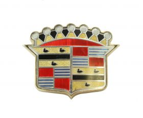 1954 Cadillac Trunk Emblem With Bezel Nos Free Shipping In The USA