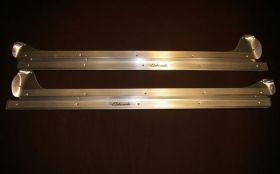1955 1956 Cadillac Eldorado Door Sill Plate Set of 2 REPRODUCTION