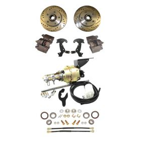 1950 1951 1952 1953 1954 1955 Cadillac Front Disc Brake Conversion Kit With Booster and Master Cylinder NEW