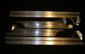 1956 Cadillac Sedan Deville Door Sill Plate Set of 4 REPRODUCTION