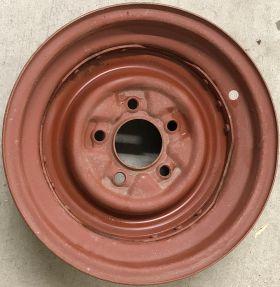 1956 Cadillac Steel Wheel Rim Single Used