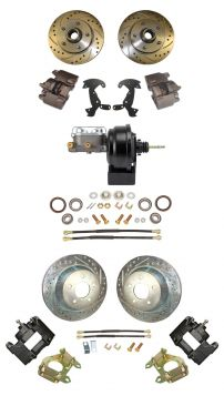 1956 Cadillac Front and Rear Disc Brake Conversion Kit With Booster and Master Cylinder NEW