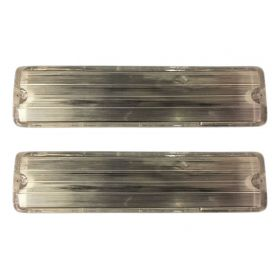 1957 Cadillac Fleetwood Back Up Lens Pair REPRODUCTION Free Shipping In The USA