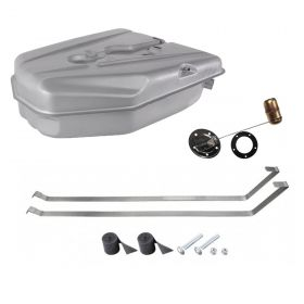 1957 Cadillac (EXCEPT Eldorado Brougham and Series 75 Limousine) Gas Tank Kit With Sending Unit and Straps REPRODUCTION