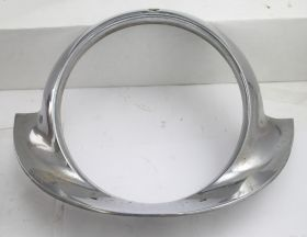 1957 Cadillac (Except Brougham) Chrome Headlight Bezel USED Free Shipping In The USA