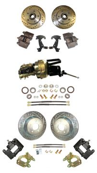 1957 Cadillac Front and Rear Disc Brake Conversion Kit With Booster and Master Cylinder NEW
