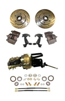 1957 Cadillac Front Disc Brake Conversion Kit With Booster and Master Cylinder NEW