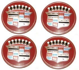 1958 Cadillac Full Wheel Cover Hub Cap Medallion Set (4 Pieces) REPRODUCTION Free Shipping In The USA