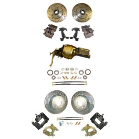 1958 Cadillac Front and Rear Disc Brake Conversion Kit With Booster and Master Cylinder NEW