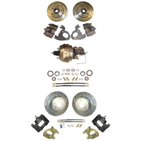1959 1960 Cadillac Front and Rear Disc Brake Conversion Kit With Booster and Master Cylinder NEW
