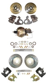 1962 1963 1964 1965 1966 Cadillac Front and Rear Disc Brake Conversion Kit With Booster and Master Cylinder NEW