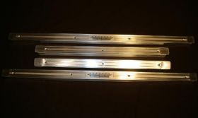 1959 1960 Cadillac 4-Door (EXCEPT Series 75 Limousine) Door Sill Plate Set of 4 REPRODUCTION