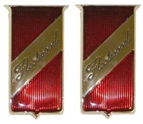 1960 1961 1962 Cadillac Fleetwood Fender Emblem 1 Pair REPRODUCTION Free Shipping In The USA