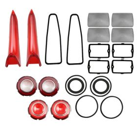 1960 Cadillac (WITH Parking Lenses) Exterior Lenses And Gaskets Set (22 Pieces) REPRODUCTION Free Shipping In The USA