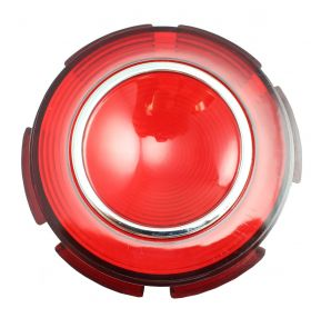 1960 Cadillac Round Tail Light Lens in Bumper REPRODUCTION Free Shipping In The USA