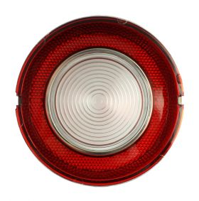 1961 Cadillac Round Back Up Lens In Bumper REPRODUCTION Free Shipping In The USA