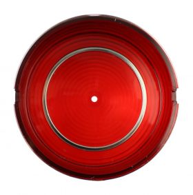 1961 Cadillac Round Tail Light Lens in Bumper REPRODUCTION Free Shipping In The USA