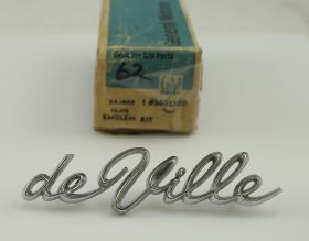 1962 Cadillac Deville 1/4 Script NOS Free Shipping In The USA