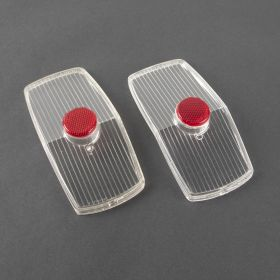 1962 Cadillac Back Up Lenses B Quality 1 Pair REPRODUCTION Free Shipping In The USA