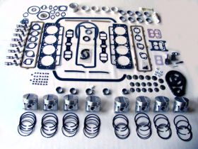 1963 Cadillac 390 Engine Basic Rebuild Kit REPRODUCTION Free Shipping In The USA