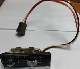 1963 Cadillac (EXCEPT Series 75 Limousine) Wiper Switch REBUILT Free Shipping In The USA