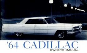 1964 Cadillac Owners Manual REPRODUCTION Free Shipping In The USA
