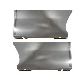 1965 1966 1967 1968 Cadillac (See Details) Front Fender Lower Patch Panels 1 Pair REPRODUCTION