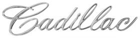 1965 Cadillac (EXCEPT Series 75 Limousine) Grille Script REPRODUCTION Free Shipping In The USA