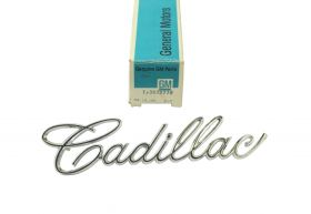 1966 1967 Cadillac (See Models In Details) Trunk Script NOS Free Shipping In The USA