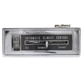1966 Cadillac (See Details) Climate Control Head Unit REBUILT Free Shipping In The USA