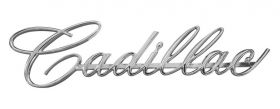 1966 Cadillac Grille Script REPRODUCTION Free Shipping In The USA