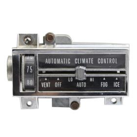 1967 1968 Cadillac (See Details) Climate Control Head Unit REFURBISHED Free Shipping In The USA