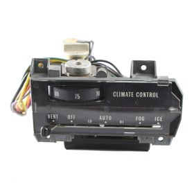 1969 1970 Cadillac Calais, Deville and Fleetwood Climate Control Head Unit REBUILT Free Shipping In The USA