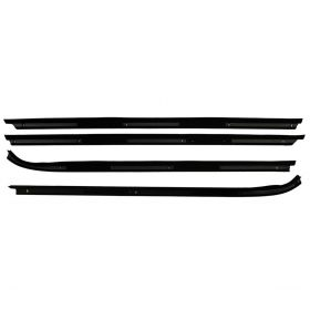 1971 1972 1973 1974 1975 1976 Cadillac 4-Door Hardtop Outer Window Sweeps Set (4 Pieces) REPRODUCTION Free Shipping In The USA