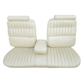 1973 1974 Cadillac Eldorado Convertible Rear Vinyl With Carpet Bench Seat Covers REPRODUCTION Free Shipping In The USA
