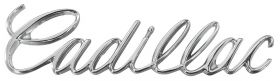 "1976 Cadillac Eldorado ""Cadillac"" Hood Script REPRODUCTION Free Shipping In The USA"
