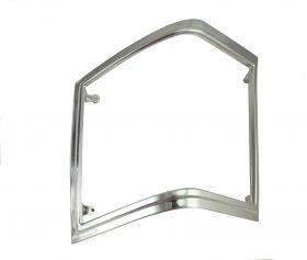 1977 1978 1979 Cadillac Deville Chrome Right Hand Side (Passenger) Tail Lamp Bezel NOS Free Shipping In the USA