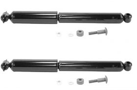 1983 1984 1985 1986 1987 1988 1989 1990 Cadillac (See Details) Deluxe Gas Charged Rear Shock Absorbers 1 Pair REPRODUCTION Free Shipping In The USA