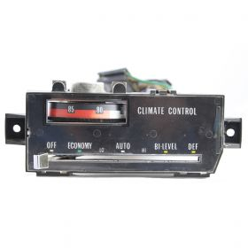 1977 1978 1979 Cadillac Seville Climate Control Head Unit REFURBISHED Free Shipping In The USA