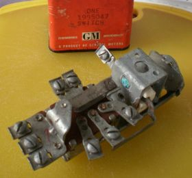 1950 1951 Cadillac Headlight Switch  NOS Free Shipping In The USA