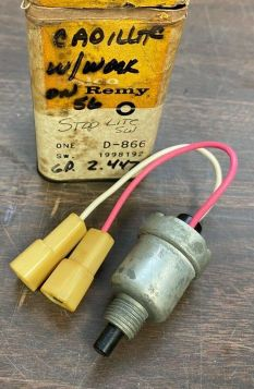 1956 1957 1958 Cadillac Brake Light Switch NOS Free Shipping In The USA