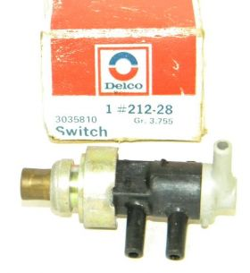 1978 1979 1980 1981 1982 Cadillac Ported Vacuum Switch (See Details) NOS Free Shipping In The USA
