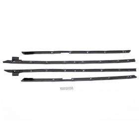 1966 Cadillac Fleetwood Brougham Outer Window Sweep Set (4 Pieces) REPRODUCTION Free Shipping In The USA
