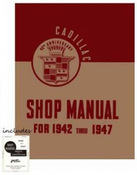 1942 1943 1944 1945 1946 1947 Cadillac All Models Service Manuals CD REPRODUCTION Free Shipping In The USA