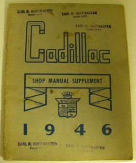 1946 Shop Manual Supplement Factory Original USED Free Shipping In The USA