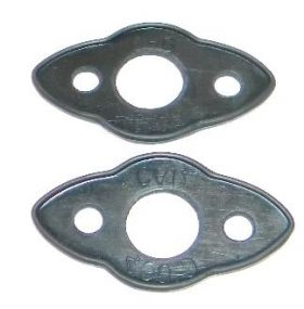 1948 1949 Cadillac Outside Door Handle Gaskets 1 Pair REPRODUCTION