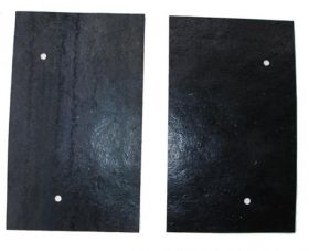 1961 1962 Cadillac Auxiliary Frame Dust Shield Under Sway Bar 1 Pair REPRODUCTION Free Shipping In The USA