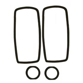 1962 Cadillac Tail Light Lens Gasket In Bumper Set (4 Pieces) REPRODUCTION