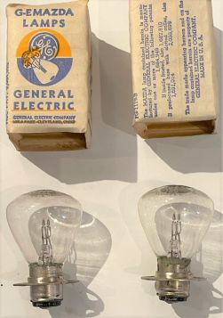 1934 1935 1936 1937 1938 1939 Cadillac Headlight Bulb 1 Pair New Old Replacement Stock Free Shipping In The USA